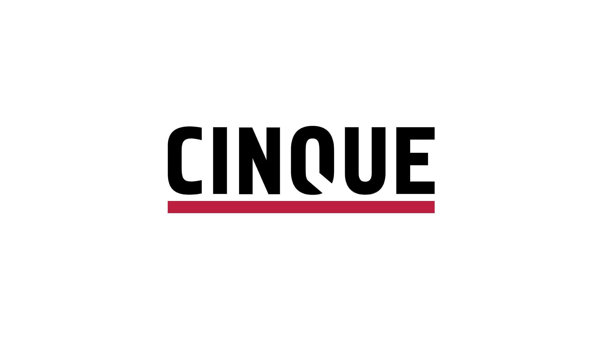 CINQUE Logo Header